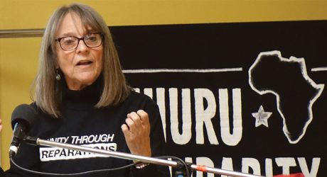 African People's Solidarity Committee Chair Penny Hess